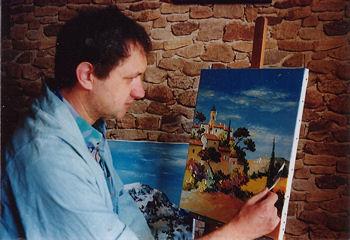 christian guinet peintre couleur