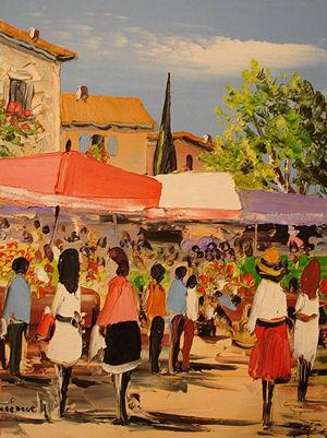 peinture marches - Christian Guinet peintre