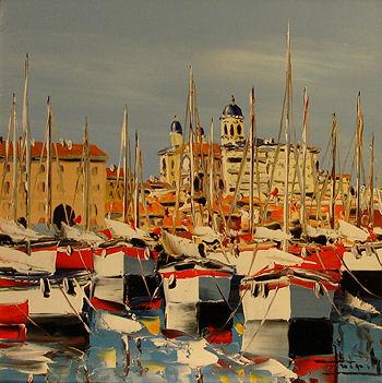 peinture port