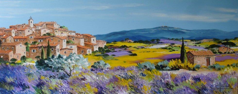 Christian Guinet peintre de la couleur