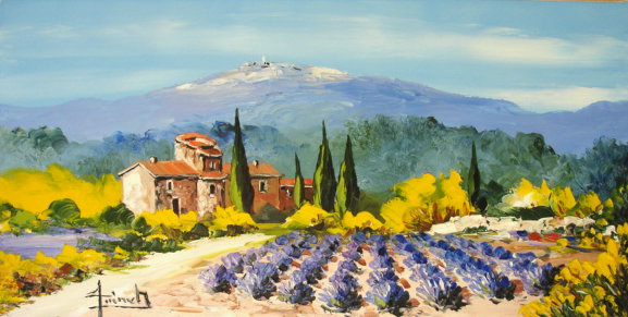 tableau peinture de provence oil painting provence christian guinet peintre de la couleur. Black Bedroom Furniture Sets. Home Design Ideas